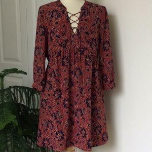 Madewell Assam Dress Silk Boho